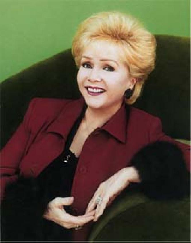 Debbie Reynolds, star of stage and screen.