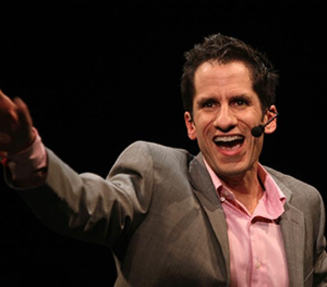 Broadway maven Seth Rudetsky will share comic audio and<br>video clips as well as his storehouse of musical theater trivia in <i>Seth's<br>Big Fat Broadway</i> at Feinstein's at the<br>Nikko on Sept. 13-14.