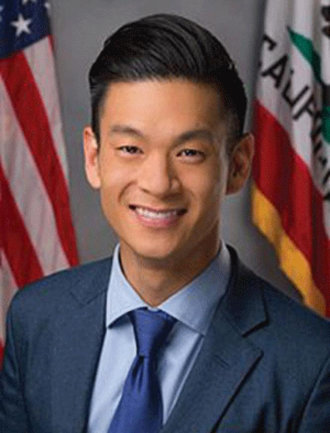 California Legislative LGBT Caucus Chair Evan Low<br>authored the state&#039;s travel ban law.