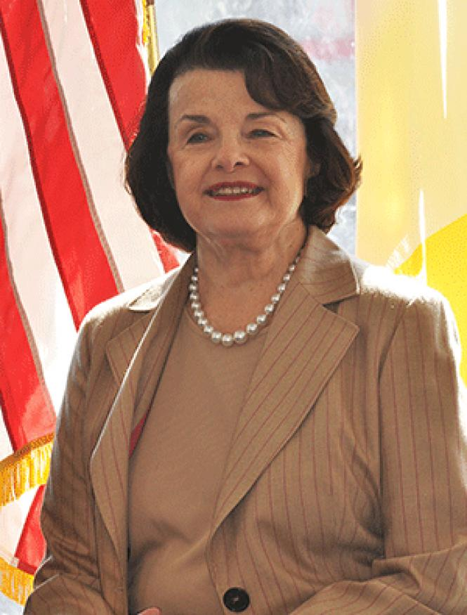 Senator Dianne Feinstein. Photo: Rick Gerharter