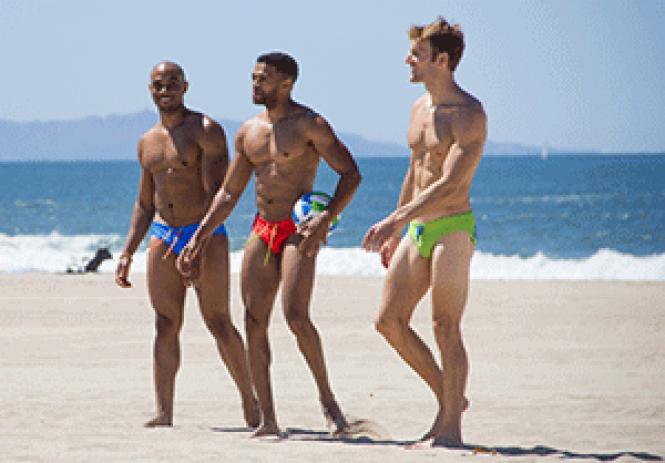 Models wear Eyegasmic Brand swimwear. Photo: John Knight<br>@fotosmoke