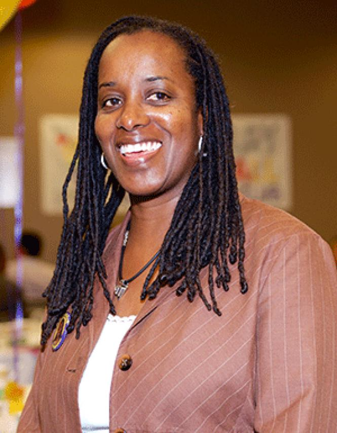 Assembly candidate Jovanka Beckles. Photo: Jane Philomen<br>Cleland