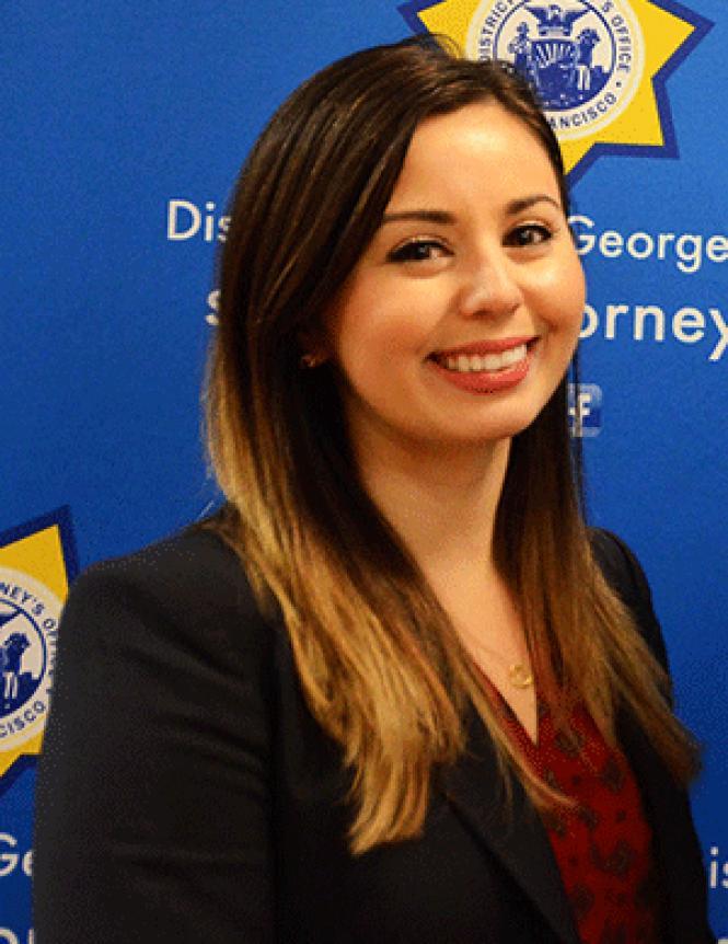 Prosecutor Maggie Buitrago. Photo: Rick Gerharter