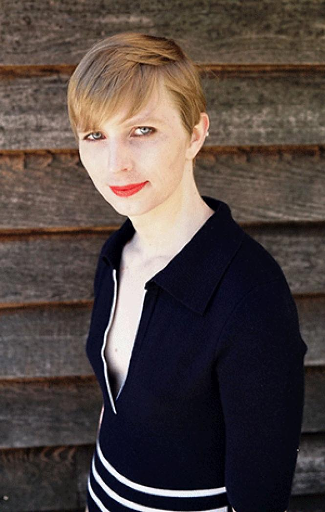 Chelsea Manning&#039;s new photo after her release from<br>prison. Photo: Courtesy Twitter