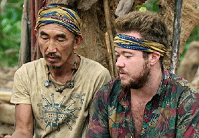 Tai Trang, left, and Zeke Smith talk during the<br>just-concluded season of &quot;Survivor: Game Changers â€&quot; Mamanuca Islands.&quot;<br>Photo: Courtesy CBS