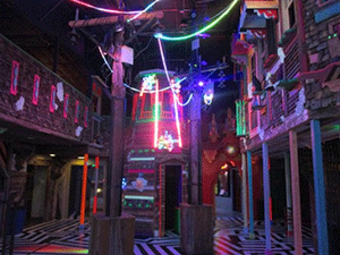 Clues await inside Meow Wolf&#039;s House of Eternal Return in<br>Santa Fe. Photo: Ed Walsh
