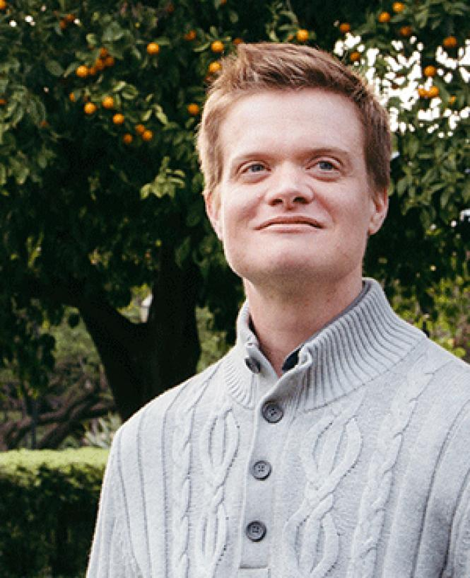 Evan Minton is the northern California co-chair of the<br>state Democratic Party&#039;s LGBT Caucus.