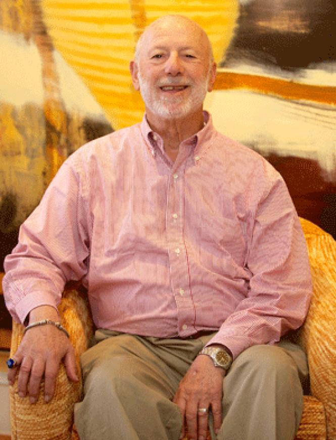 Alvin Baum, shown at his San Francisco home, is this<br>year's Lifetime Achievement grand marshal.<br>(Photo: Jane Philomen Cleland)<br><br>