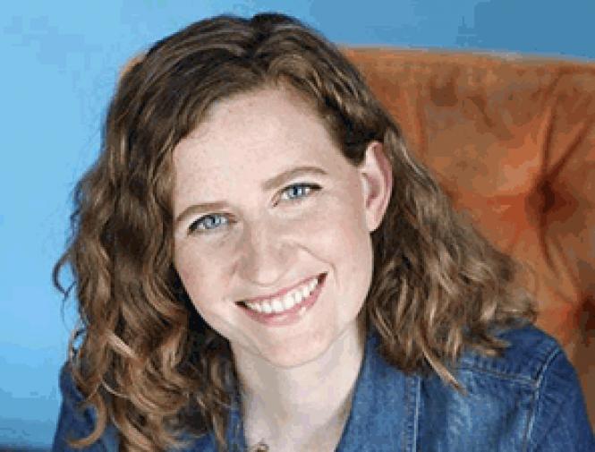 Comedian Katherine Robinson