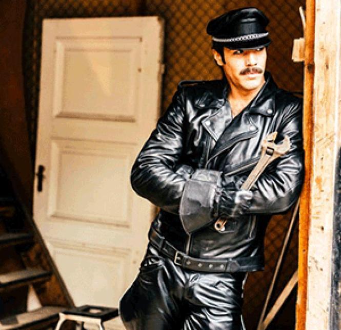 Niklas Hogner as Tom of Finland's character Kake