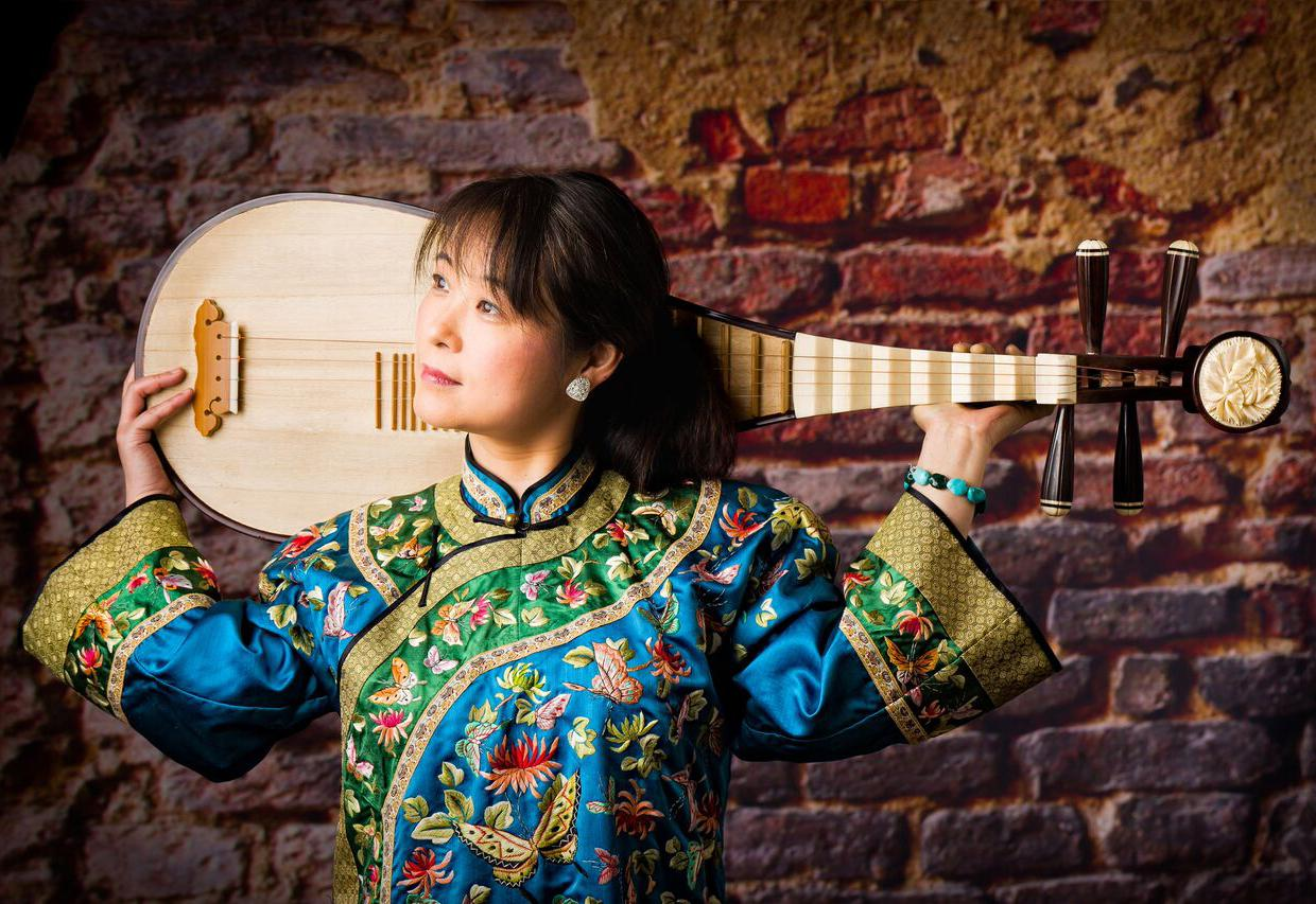 Instrumentalist Wu Man has introduced Chinese music and her four-stringed pipa (sometimes called the Chinese lute) to Western audiences. Photo: Stephen Kahn