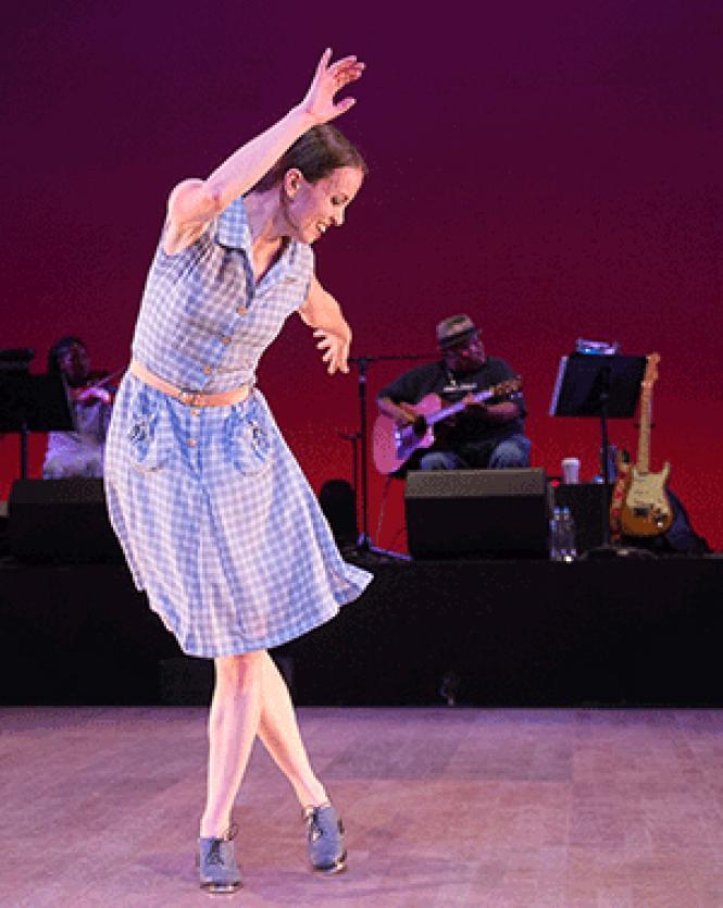 Cal Performances presented Dorrance Dance at Zellerbach Hall in Berkeley. Photo: Christopher Duggan