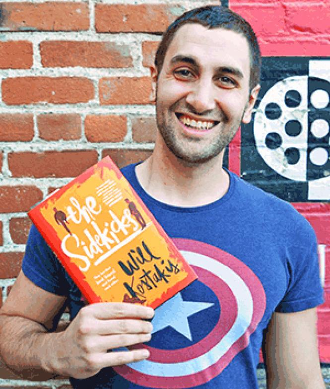 "Gay Australian teen literature author Will Kostakis spoke with teens in the Bay Area last month with the American debut of his young adult novel ""The Sidekicks."" Photo: Jo-Lynn Otto"