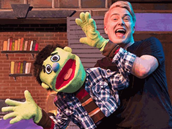 Nicky (Brendon North) is one of the zany but lovably furry characters living on Avenue Q in the production of the same name.
