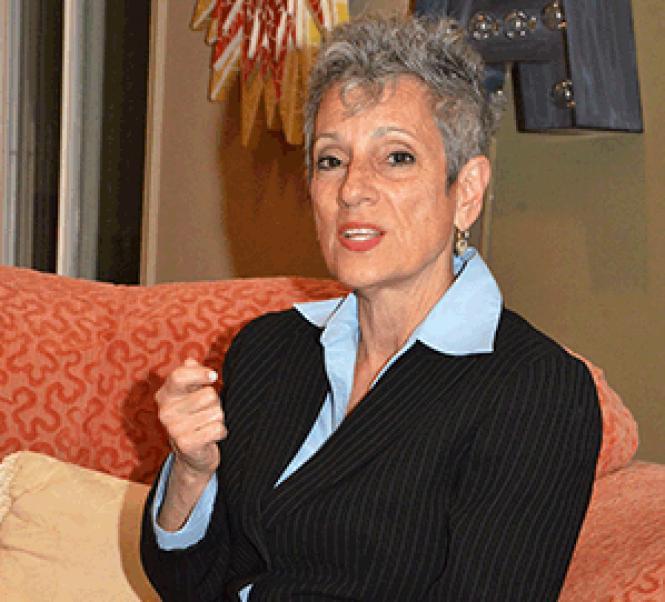 Democrat Joy Silver is seeking to oust a GOP state senator in southern California.
