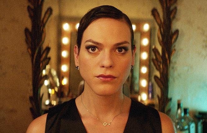 Transgender singer-actress Daniela Vega as Marina in director Sebastian Lelio's 'A Fantastic Woman.'