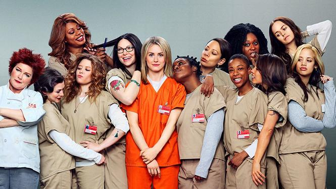 "Netflix's ""Orange is the New Black"" is one of a few shows that has trans characters, and stars trans actress Laverne Cox. Photo: Courtesy Netflix"