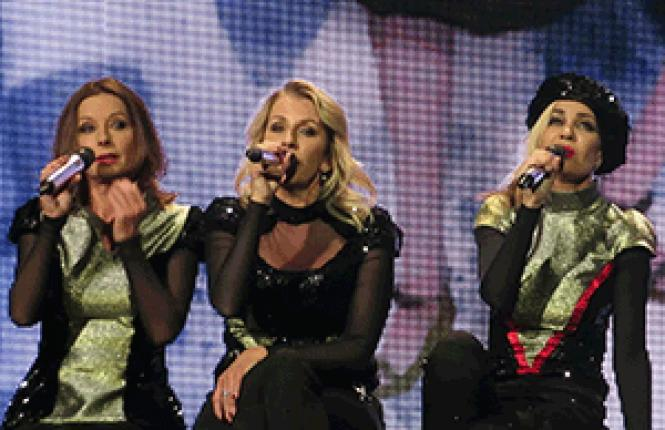 Bananarama at a recent concert in Glasgow
