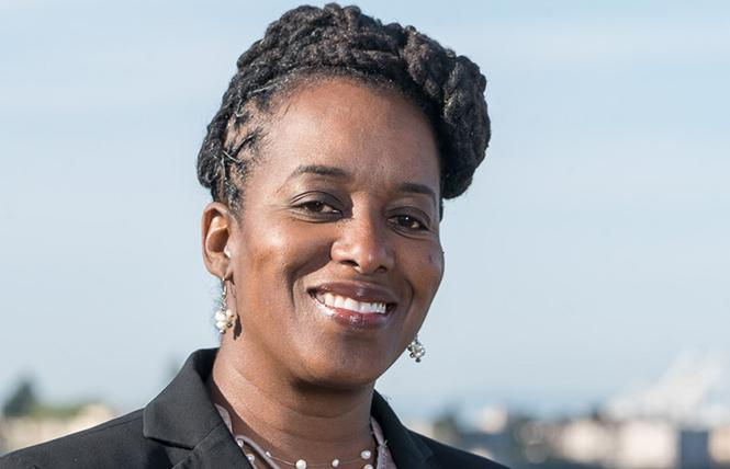 Assembly candidate Jovanka Beckles. Photo: Beckles for Assembly campaign