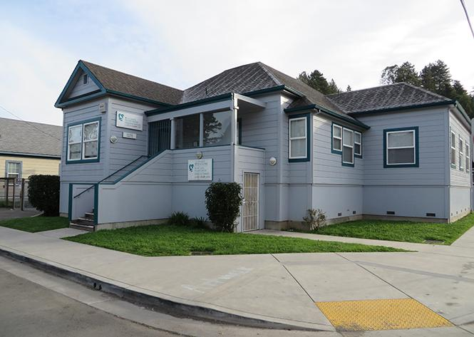 The new Homeless Healthcare Center on Third Street in downtown Guerneville, operated by West County Health Centers, is expected to open in April