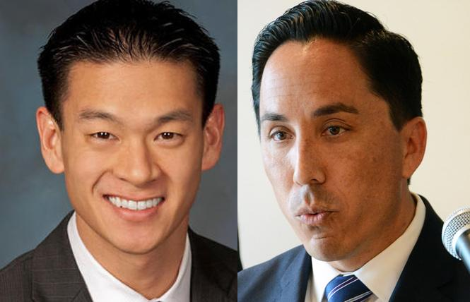 Left: Assemblyman Evan Low and Right: Assemblyman Todd Gloria