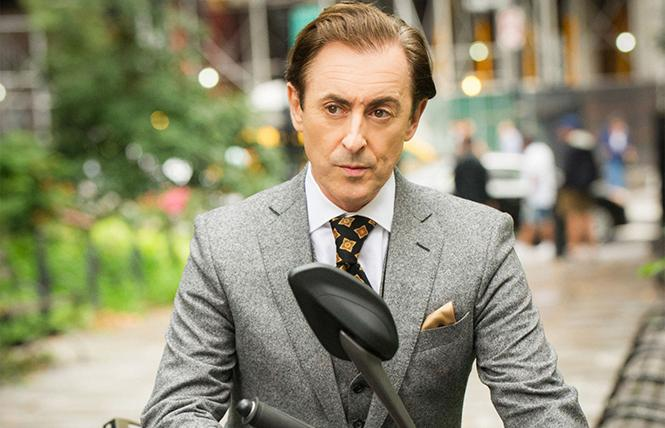 "Alan Cumming will play the first openly gay lead character in a network drama in CBS' ""Instinct."" Photo: CBS-TV"