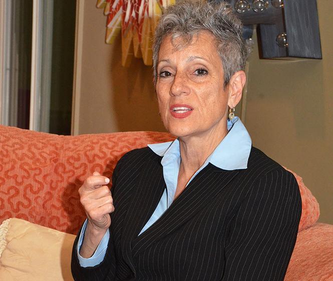 State Senate candidate Joy Silver