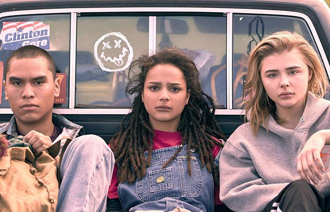 "Chloe Grace Moretz (center) stars in Desiree Akhavan's ""The Miseducation of Cameron Post,"" playing the 2018 San Francisco International Film Festival. Photo: Courtesy SFFILM"