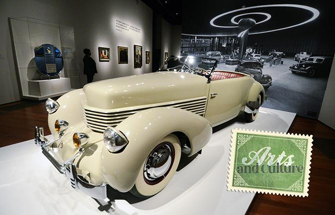 "An elegant example of streamline moderne design is the 1937 Cord Phaeton 812 automobile, part of the ""Cult of the Machine"" exhibit now showing at the 2018 Besties-winning de Young Museum. Photo: Rick Gerharter"