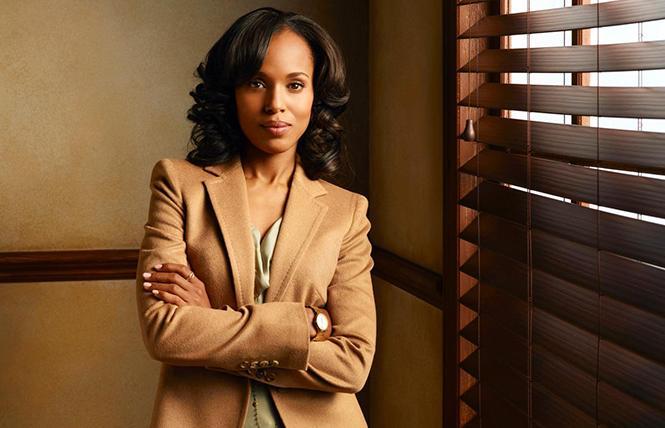 "Kerry Washington stars as Olivia Pope in ""Scandal."" Photo: Courtesy ABC"