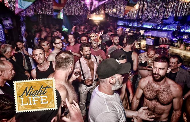 Multi-Bestie winner, the SF Eagle's events include Disco Daddy, where the grooves get deliciously vintage. Photo: Gooch