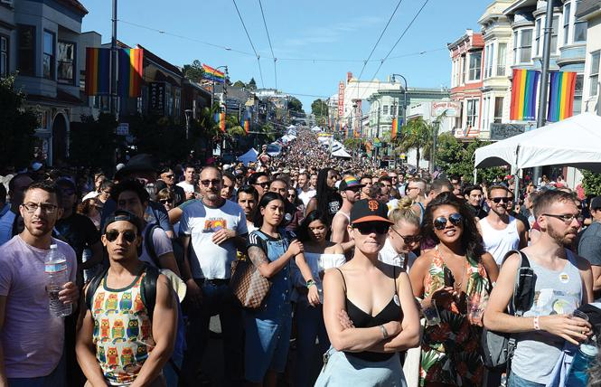 Castro Street was packed for last year's Castro Street Fair. Members of the board that runs the fair are soliciting new ideas for this year's event and will hold a community meeting next Saturday. Photo: Rick Gerharter