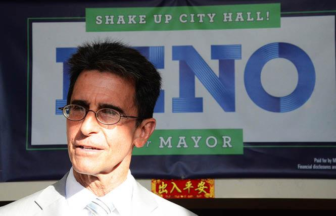 San Francisco mayoral candidate Mark Leno. Photo: Rick Gerharter