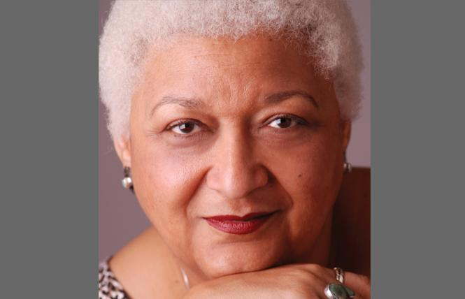 Author Jewelle Gomez. Photo: Irene Young
