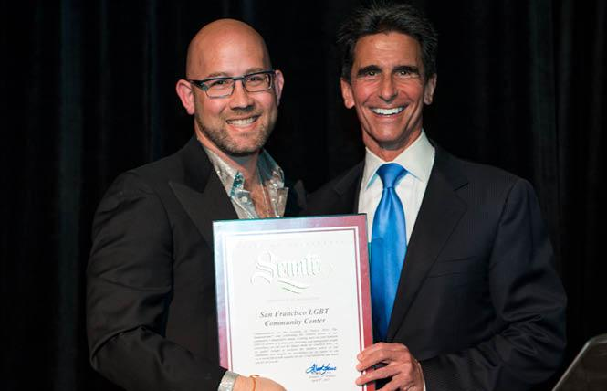 The Gay Asian Pacific Alliance has endorsed Rafael Mandelman, left, for District 8 supervisor, and Mark Leno for mayor. Photo: Courtesy Leno for Mayor campaign