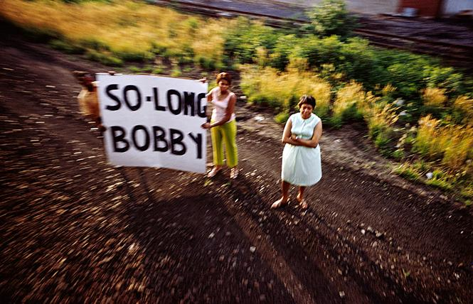 "Paul Fusco, Untitled, from the series ""RFK Funeral Train"" (1968, printed 2008), San Francisco Museum of Modern Art. Photo: Magnum Photos, courtesy Danziger  Gallery"