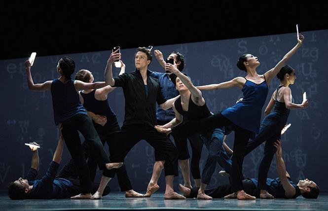 "San Francisco Ballet in Christopher Wheeldon's ""Bound To."" Photo: Erik Tomasson"