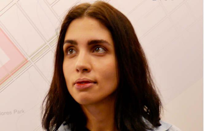 Pussy Riot founder Nadya Tolokno. Photo: Sari Staver