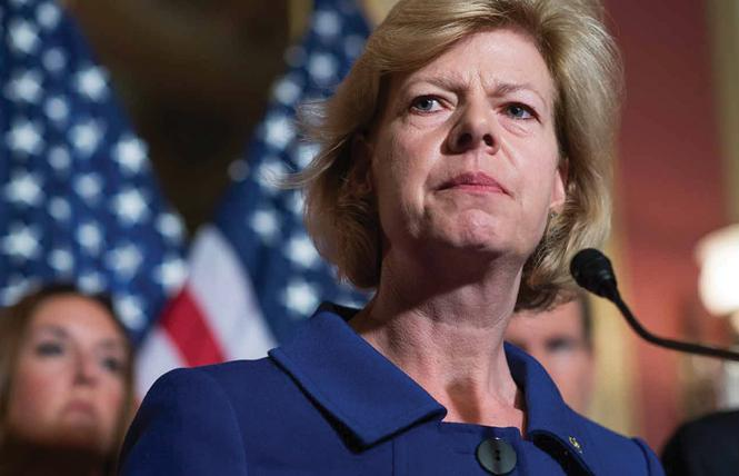 Senator Tammy Baldwin. Photo: AP