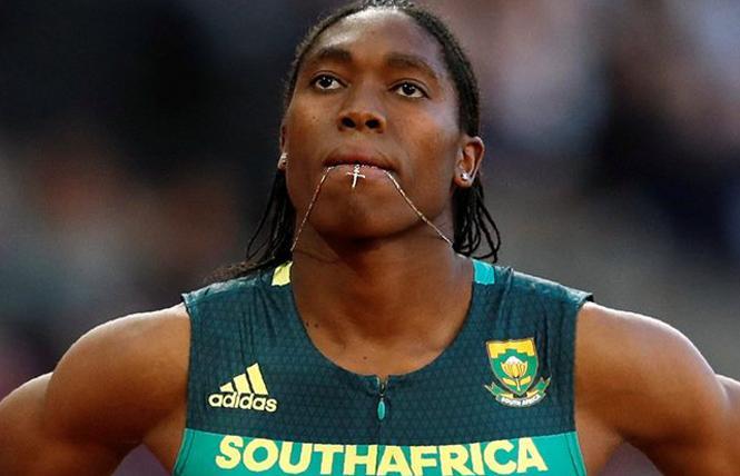 South African runner Caster Semenya