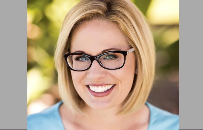 Congresswoman Kyrsten Sinema. Photo: Courtesy Sinema for Senate campaign