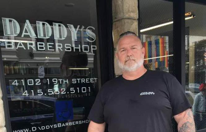 Daddy's Barbershop owner Jessie Vanciel said that about $5,000 worth of equipment was stolen during a burglary last weekend. Photo: Sari Staver
