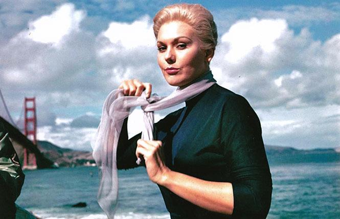"Hollywood legend Kim Novak: ""I want to be a part of it."" Photo: Outsider Enterprises"