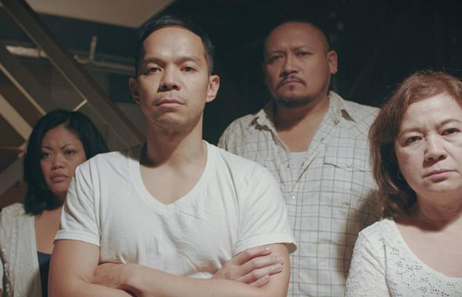 "Scene from director H.P. Mendoza's ""Bitter Melon."" Photo: Courtesy CAAMfest"