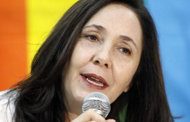 Cuban LGBT rights advocate Mariela Castro. Photo: Courtesy EFE