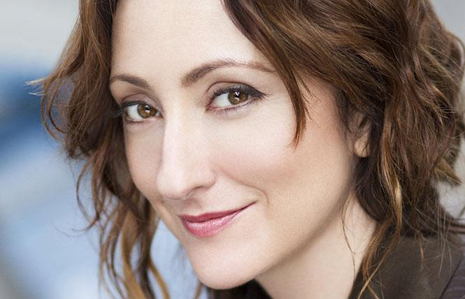 Stage star Carmen Cusack.