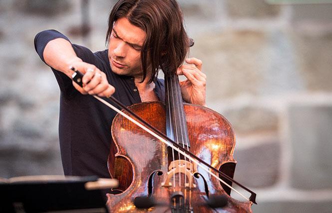 Cellist Gautier Capucon. Photo: Gregory Batardon