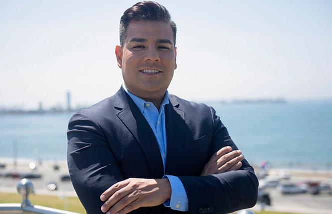 State insurance commissioner candidate Ricardo Lara. Photo: Courtesy Lara for Insurance Commissioner campaign.