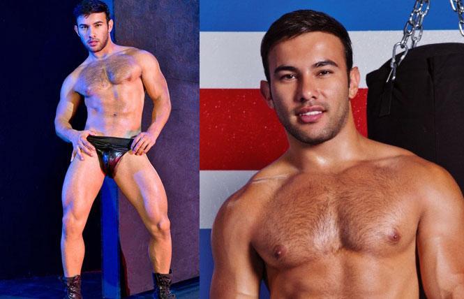 Dorian Ferro, photos courtesy Raging Stallion and Falcon Studios