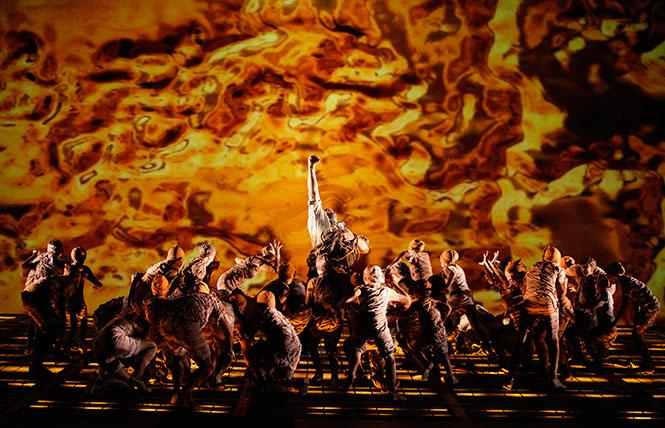 "Scene from ""Das Rheingold,"" the first opera in Wagner's ""Ring of the Nibelung"" cycle. Photo: Cory Weaver/San Francisco Opera"
